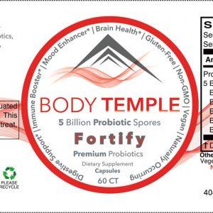 Fortify – Premium Probiotics